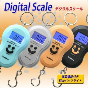 可愛い吊り下げ型デジタルスケール ラゲッジチェッカー ポータブルデジタルラゲッジスケール 40Kgまで 計測可 簡易温度測定 日本語パッケージ! ポイント消化|you-new