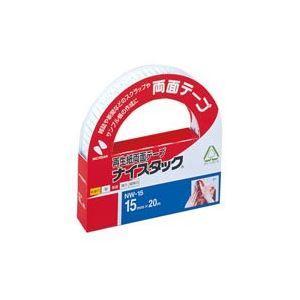 (業務用10セット) ニチバン 両面テープ ナイスタック 〔幅15mm×長さ20m〕 NW-15