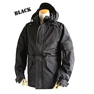 アメリカ軍 ECWC S-1ジャケット/パーカー 〔 Lサイズ 〕 透湿防水素材 JP041YN ブ...