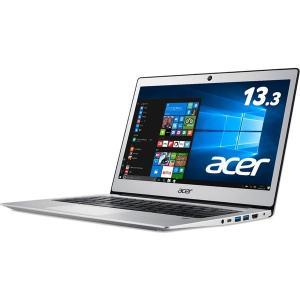 Acer Swift 1 SF113-31-A14Q/S (Celeron N3350/4GB/128GBeMMC/ドライブなし/13.3/Windows 10 Home(64bit)/APなし/ピュアシルバー) SF113-31-A14Q/S|you-new