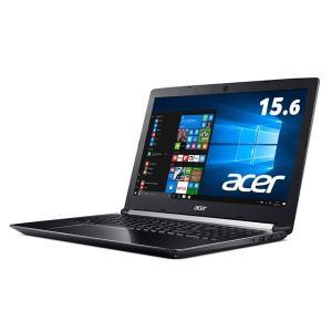 Acer Aspire 7 A715-71G-A58H/K (Core i5-7300HQ/8GB/128GBSSD+1TB HDD/ドライブなし/15.6/Windows 10Home(64bit)/Officeなし/オブシディアンブラック)|you-new