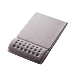 (まとめ)エレコム COMFY マウスパッドグレー MP-095GY 1枚〔×5セット〕