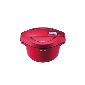 【商品名】 水なし自動調理鍋ホットクック KN-HW24C-R 【ジャンル・特徴】 食材と調味料を入...