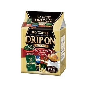 (まとめ) キーコーヒー ドリップオン バラエティパック /6P〔×3セット〕