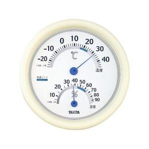 (まとめ) タニタ 温湿度計 TT-513 ホワイト〔×5セット〕