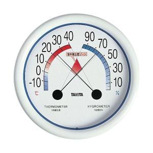 (まとめ) タニタ 食中毒注意ゾーン付温湿度計 WH5488〔×5セット〕