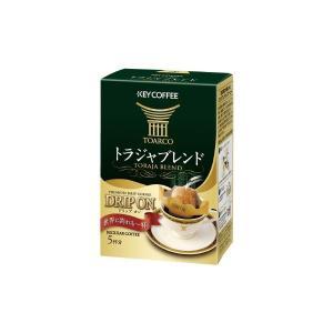 (まとめ)キーコーヒー ドリップオントラジャブレンド5袋入り〔×50セット〕