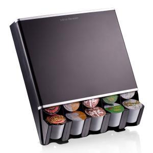 キューリグ Kカップ KEURIG BREWSTAR K-Cup 落下式 カプセルホルダー 30個収納 黒 Mind Reader Free Fall Coffee Pod Dispenser|you-new