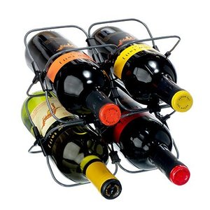 rabbitwine 折りたたみワインラック 4本収納 Rabbit Houdini Expandable Wine Rack|you-new
