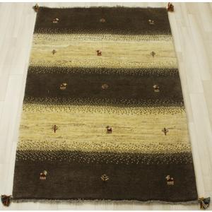 ペルシャギャベ BB17041 約102×148cm ベージュ&ブラウン|youai