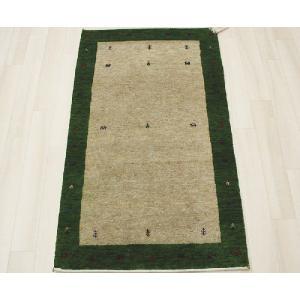 高密度インドギャベマット 約70×120cm グリーン 4587(Y)|youai