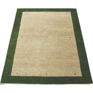 高密度インドギャベラグ 約136×198cm グリーン 4587(Y)|youai