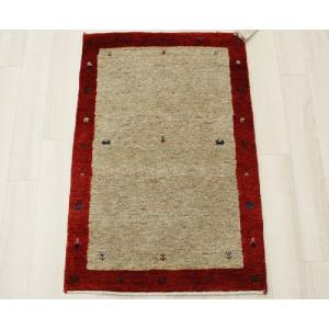 高密度インドギャベマット 約56×90cm レッド 4587(Y)|youai