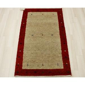 高密度インドギャベマット 約70×120cm レッド 4587(Y)|youai
