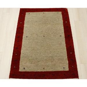 高密度インドギャベマット 約87×150cm レッド 4587(Y)|youai