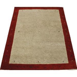 高密度インドギャベラグ 約136×198cm レッド 4587(Y)|youai