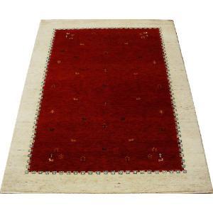 高密度インドギャベラグ 約136×198cm レッド 4588(Y)|youai