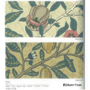 輸入 手芸用 おしゃれな プリント生地 切り売り販売 ウィリアムモリス Fruit フルーツ(IO) (PR8048/1・3) 約137cm幅 (10cmあたり)|youai|04