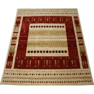 ウィルトンカーペット 輸入カーペット 絨毯 ギャベ柄ラグマット ラパズ4015 レッド (Y) 約200×250cm 約50万ノットLAPAZ RED 半額以下 引っ越し 新生活|youai
