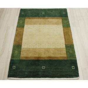 高密度インドギャベマット 約82×128cm グリーン LB1521(Y)|youai