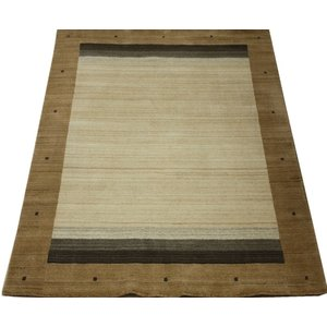 ギャベラグ インドギャベ ロリバフ LB-1911N (Y) 約200×250cm 輸入絨毯 ラグマット ウール ナチュラルカラー youai