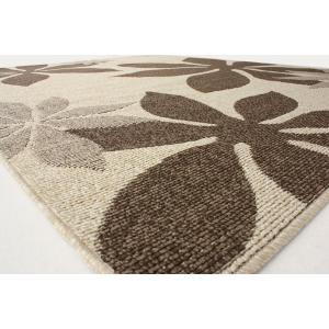 ラグ ラグマット 撥水 防汚 カーペット ダイニングラグ 絨毯 じゅうたん 約180×220cm マギィ (N) 日本製|youai|04