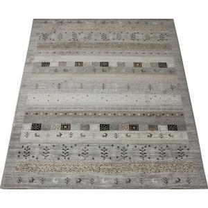 数量限定 ベルギー製 絨毯 カーペット 輸入カーペット ウィルトン織り 輸入ラグ ギャベ柄 40万ノット 約200×290cm 限定品 ノマド26024 (Y) 引っ越し 新生活|youai