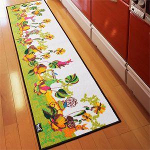 デザインマット キッチンマット 約50×120cm オーケストラ (N)|youai