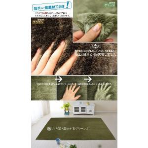 ラグ カーペット 約130×190cm プレミアムファー (Y) 日本製 半額以下|youai|03