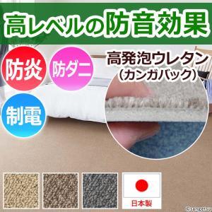 防音カーペット 3畳カーペットラグ 三畳 3畳 (約176×261cm ) サンコーラス (Nm) youai