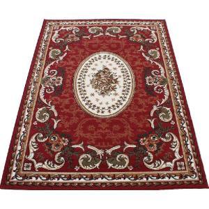 ウィルトン織りカーペット 三畳 3畳 約160×230cm シラーズ1123 (Y) レッド youai
