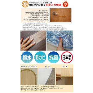 汚れに強くて撥水する デザイン豊富な トイレマット (SL) 約60×60cm 抗菌 防かび|youai|02