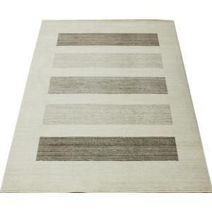 ウールマーク付 純ウール wool rug 輸入 モダン ボーダー柄 無染色 17万ノット ウィルトン UDモダン(N) 約160×230cm|youai
