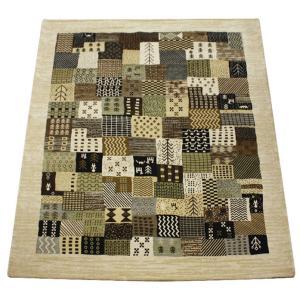 ゴブラン織りカーペット 輸入 3重織 ギャベ柄 約200×250cm ザクロス (Y) 引っ越し 新生活|youai