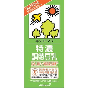 豆乳 キッコーマン 特濃調整豆乳 1000ml×...の商品画像