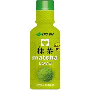 抹茶 matcha LOVE (SWEETENED) パウダーインキャップ 190ml×30本 伊藤園|youbetsuen-y