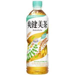 爽健美茶 お茶 ペットボトル 600ml×24本 コカコーラ コカ・コーラ|youbetsuen-y