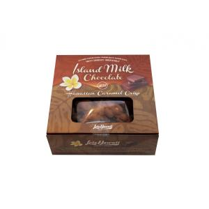 チョコレート ポップコーン アイランド ミルクチョコレート with ハワイアンキャラメルクリスプ  50g×5個|youbetsuen-y
