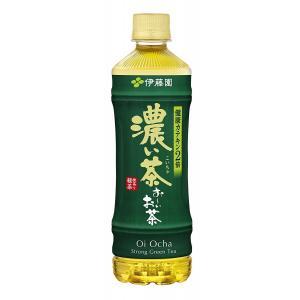 おーいお茶 濃い茶 ペットボトル 525ml×24本 お〜いお茶 伊藤園|youbetsuen-y