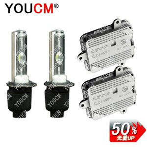 JEEP CHEROKEE H2〜H13 7MX フォグ H3 RS 光量150%UP 35W 低電圧起動 2灯 HIDキット[1年保証][YOUCM]|youcm