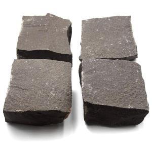 ピンコロ 黒玄武岩バサルト黒  90x90x45 1.1kg 30個入り|yougan
