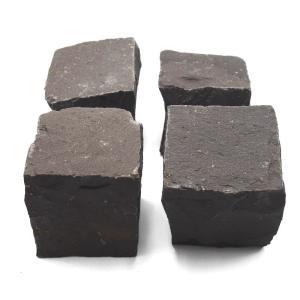 ピンコロ 黒玄武岩バサルト黒  90x90x90 2.1kg 15個入り|yougan