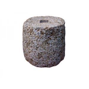 束石 錆御影石 G682 ビシャン φ7寸x7寸 25kg|yougan