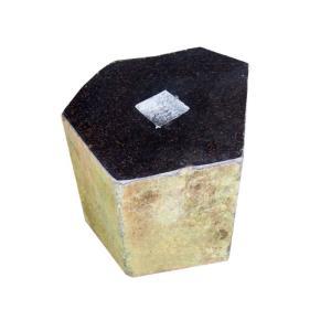 束石 六方石 天端磨き 7寸 25kg|yougan