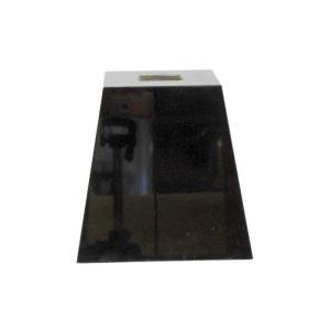 束石 黒御影石 磨き G342 4.5寸 16kg|yougan
