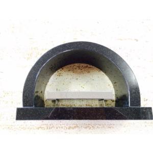 黒御影香炉 アーチ型 横27x奥行11x高さ18.3cm 5kg 送料無料|yougan