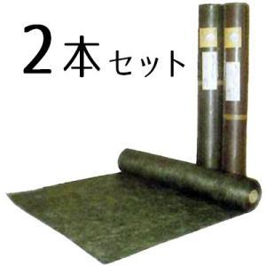プランテックス 240 ブラック/ブラウン (旧ザバーン防草シート)1mx30m 2本セット|yougan