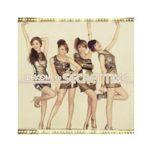 WELCOME to SECRET TIME 通常盤 中古 CDの画像
