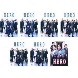 HERO 2014年版 全7枚 +2015年劇場版 レンタル落ち 全巻セット 中古 DVD  テレビドラマ|youing-azekari