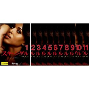 【DVDケース無】全 巻 中古DVD スキャンダル シーズン5(11枚セット)第1話〜第21話 最終 レンタル落|youing-azekari